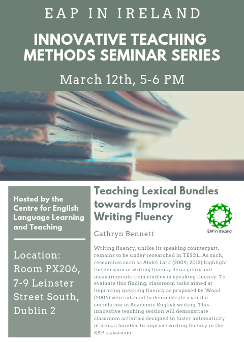 March 12 innovative teaching methods seminar series
